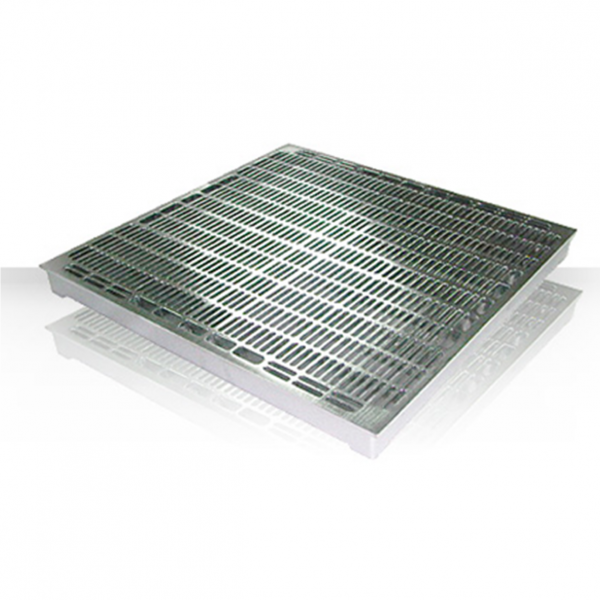 ALUMINUM RAISED FLOOR PANEL-GRATING (EPOXY COATED)