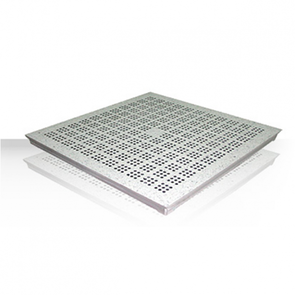 ALUMINUM RAISED FLOOR PANEL-PERFORATED