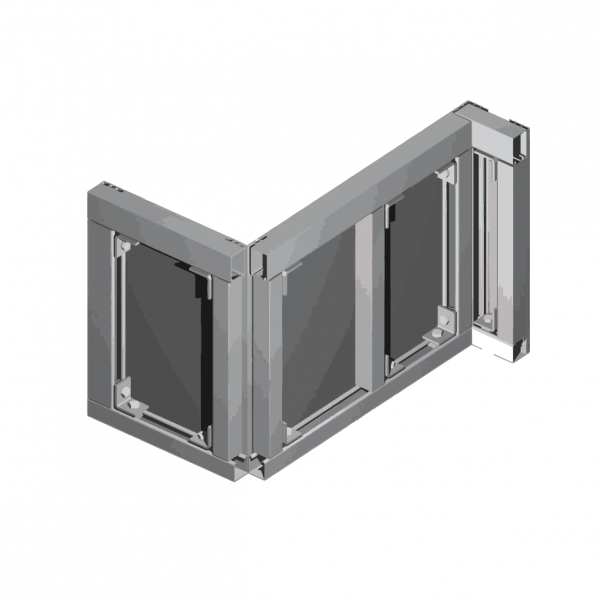 CL2000 CLADDING WALL PANEL SYSTEM Back View