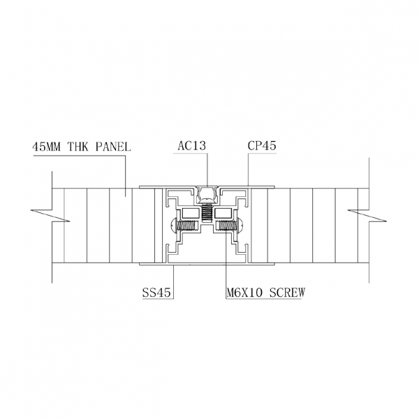 SS2000 STUD WALL PANEL SYSTEM Panel Intermediate Stud & Capping Joint