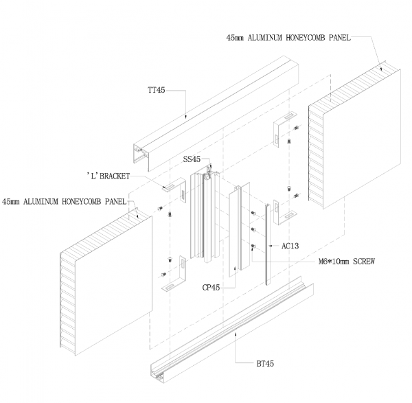 SS2000 STUD WALL PANEL SYSTEM detail drawing