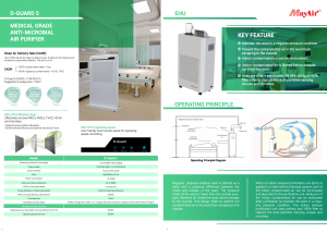 Germicidal Filtration Solutions