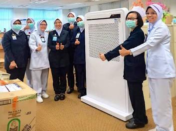 MayAir Covid-19 Donation Sg Buloh Hospital